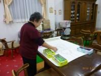 ニッケ銀羊苑 甚目寺 「お花紙アート」の画像