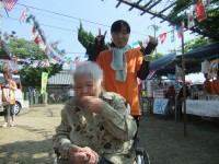 ニッケ加古川介護村 「地域の夏祭り」の画像
