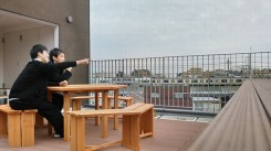 ニッケあすも市川ハイム 「 バルコニー快適空間計画1」の画像