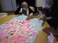 ニッケふれあいセンター犬山 「春本番!!桜の貼り絵作り」の画像