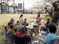 ニッケあすも一宮 「花見でお茶会」の画像