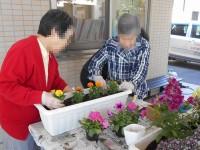 ニッケヘルパーステーションかかみ野 「プランタ花植え」の画像