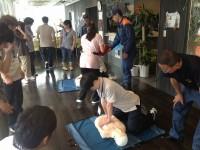 ニッケあすも市川 「救命救急研修」の画像
