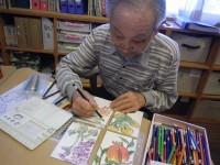ニッケふれあいセンター犬山 「絵葉書作り」の画像