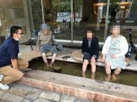 ニッケてとて本町 「天然温泉の足湯」の画像