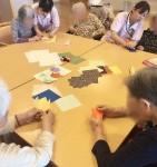 ニッケあすも一宮 「折り紙でチューリップの花づくり」の画像