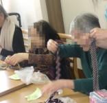 ニッケつどい加古川 「手芸部 ネクタイネックレス完成!」の画像