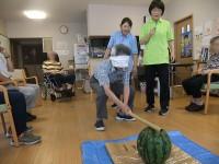 ニッケれんげの家・加古川 「れんげの夏といえば、、、スイカ割り!」の画像
