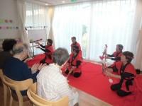 ニッケてとて加古川 「銭太鼓の演技」の画像