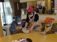ニッケふれあいセンター加古川 「おやつ作り ~ブッシュド ノエル~」の画像