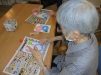 ニッケつどい加古川 「朝顔の壁飾り完成!」の画像