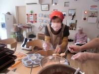 ニッケてとて加古川 「桃色蒸しパンケーキ」の画像
