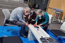 ニッケあすも加古川弐番館 「木工レクリエーション♪♪」の画像