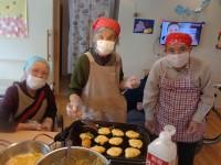 ニッケてとて加古川 「かぼちゃ入りホットケーキ」の画像