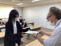 介護事業本部 「ニッケ・ケアスクール卒業式」の画像